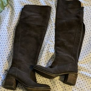 Gorgeous lucky Brand over the knee boots
